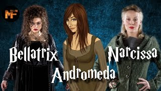 Black Sister Origins Explained (Bellatrix Lestrange, Narcissa Malfoy & Andromeda Tonks)