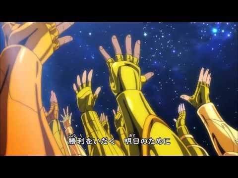 Os cavaleiros do zodíaco alma de ouro :abertura