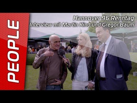 Hannover 96 Renntag | Interview mit Martin Kind und Gregor Baum