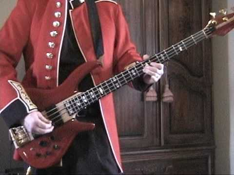 Kicks bass line - Tribute to Fang - Paul Revere & the Raiders