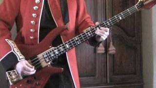 Kicks bass line - Tribute to Fang - Paul Revere & the Raiders