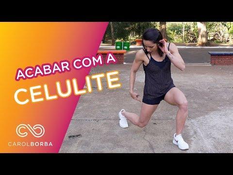 Como acabar com as Celulites - Carol Borba