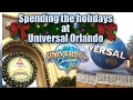 Spending the holidays at Universal Orlando