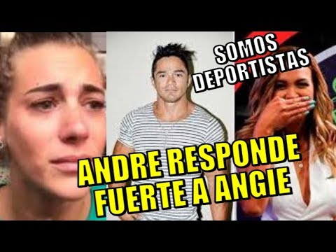 ANDRE RESPONDE FUERTE A ANGIE ARIZAGA TRAS DEFENDER A NICOLA PORCELLA