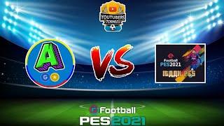Itaanpes VS AlexTV   Torneo youtubers PES 2021 mobile (8va jornada)