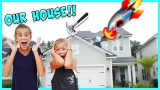 Our house is falling apart!! Hopefully we won't be homeless!! Thank...