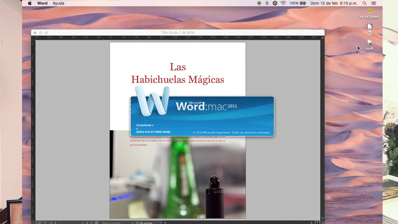 De Indesign a Word (Documentos básicos) - YouTube