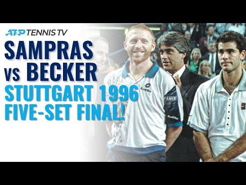 Pete Sampras vs Boris Becker: Classic Tennis Highlights | Stuttgart 1996 (Final)