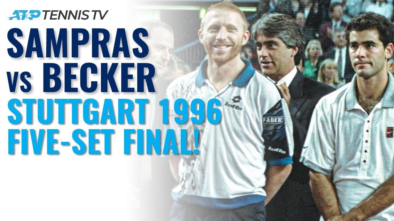 Pete Sampras vs Boris Becker: Classic Tennis Highlights | Stuttgart 1996 Final