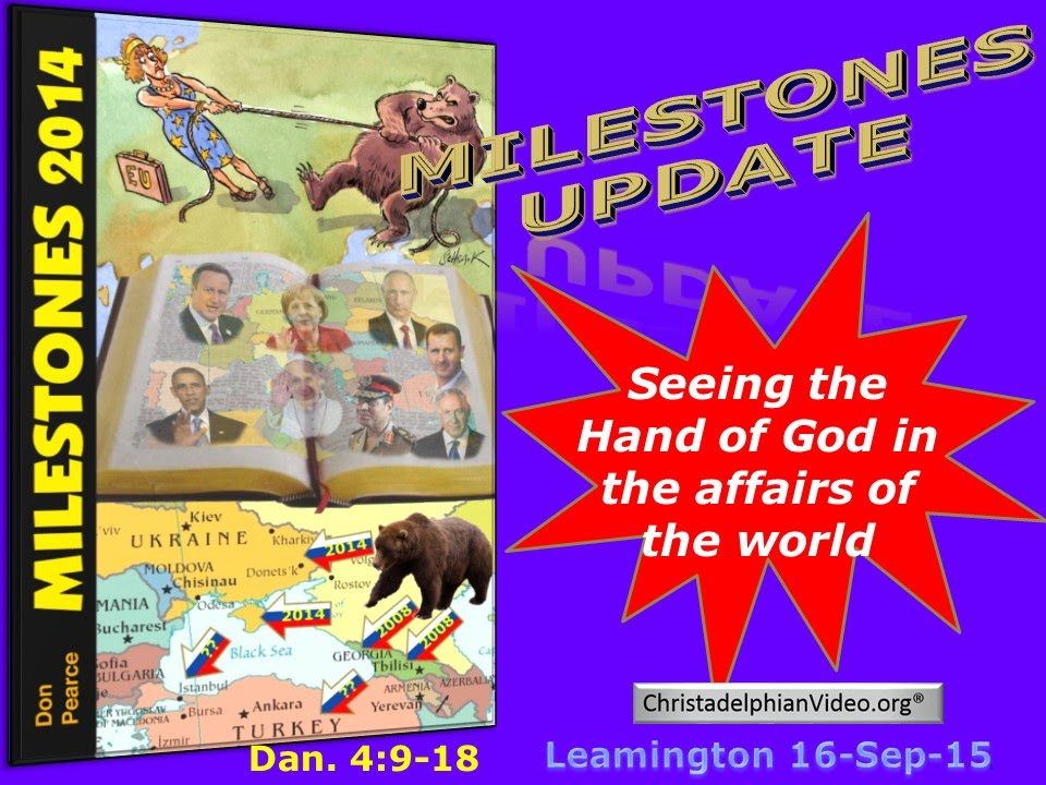The end time is upon us god working in the affairs of the world