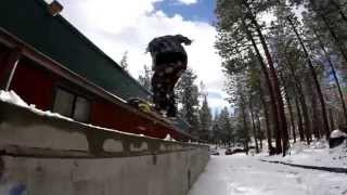 Lake Tahoe street snowboarding session 2015-16 season