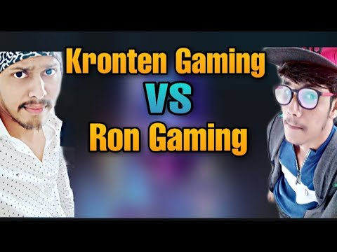 Kronten Gaming VS Ron Gaming   Who Is The Best PUBG Mobile Player?