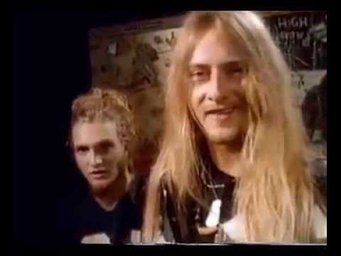 Alice in Chains – Interview 1991/10/29 Video Sheet Metal