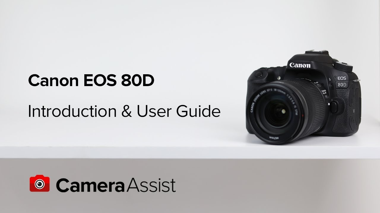 Canon EOS 80D DSLR Camera with 18-55mm IS Lens