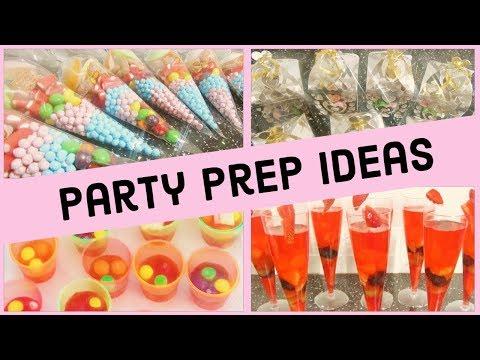 Kids Party Preparation Ideas