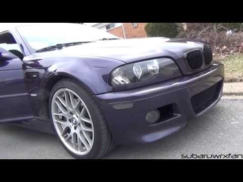 Techno Violet E46 M3 Rolling with My BRZ