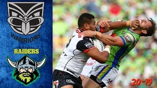 Warriors vs Raiders Highlights and match review (3 Wins in a Row!)