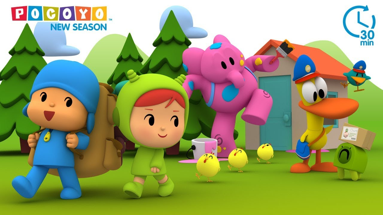 Pocoyo - Pocoyo  U0026 Pato Best Friends