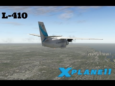 X Plane 11 EP 24: L 410 Best Freeware Aircraft