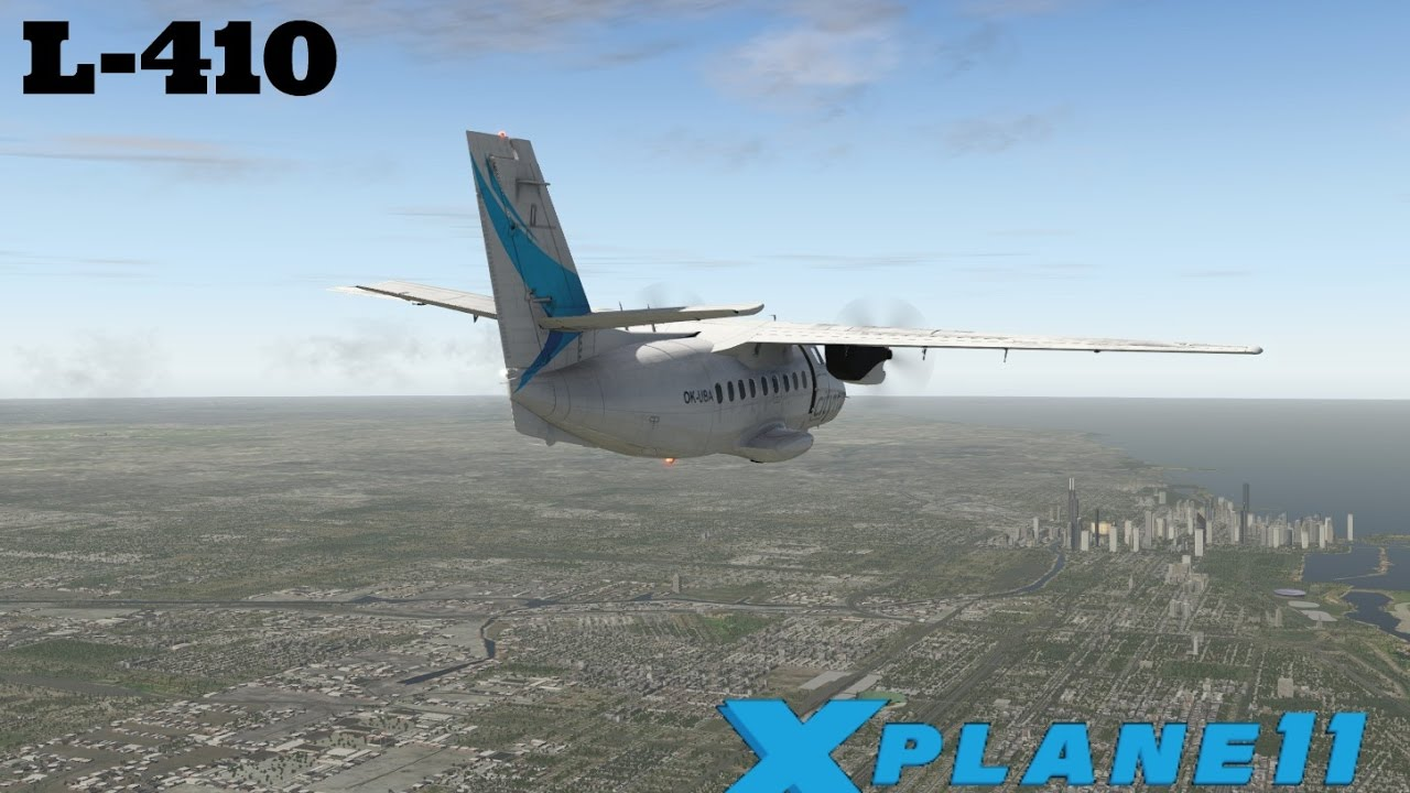 X Plane 11 Ep 24 L 410 Best Freeware Aircraft Youtube
