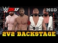 WWE 2K17 PC MOD  2v2 Backstage Brawl  Divide   Conquer