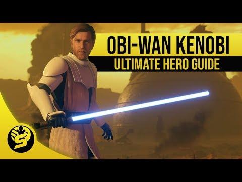 OBI-WAN KENOBI - Updated Hero Guide (2019) - STAR WARS Battlefront 2