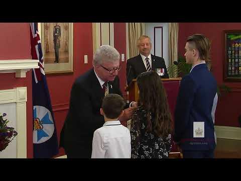 Queensland Investiture Ceremony - 10am, 12 September 2017