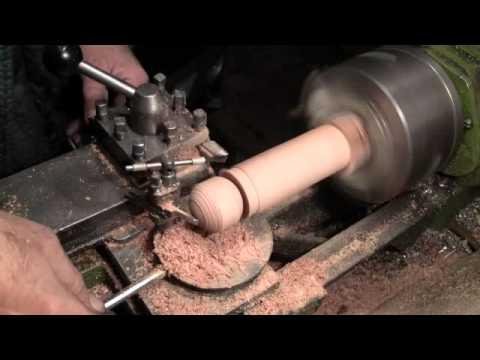 Как сделать шар на токарном станке видео