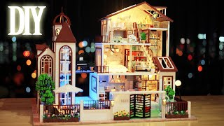 DIY Miniature Dollhouse Kit || Love You All The Way - Miniature Land