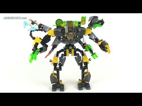 LEGO Hero Factory COMBINATION: EVO XL Machine + ALL! 44022 + 44015 + 44017 + 44018 + 44019