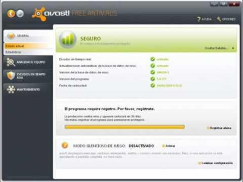 descargar avast free antivirus hasta 2038