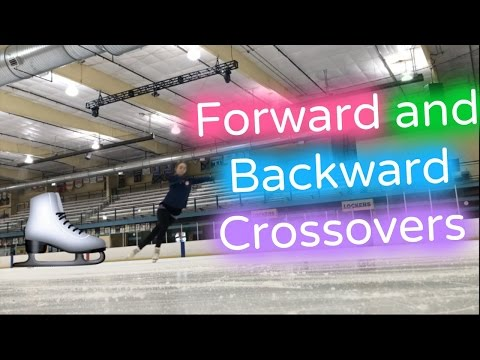 How to do Forward and Backward Crossovers | Figure Skating