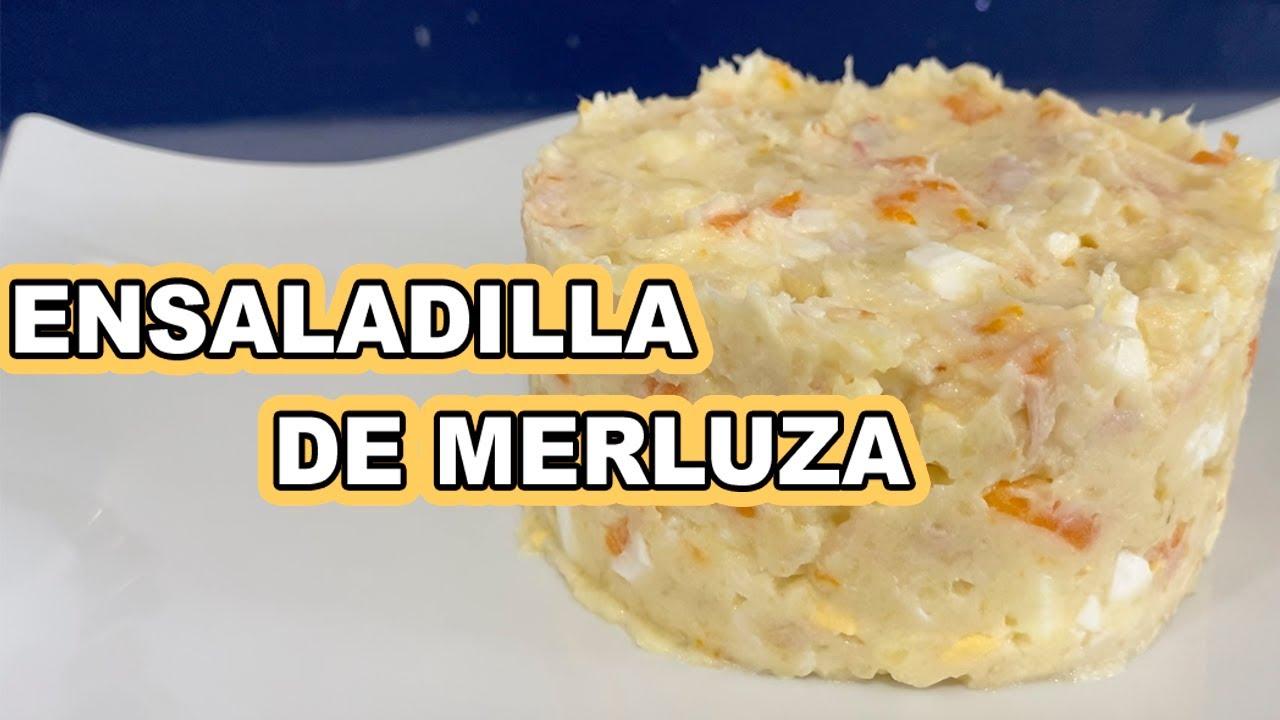 ENSALADILLA DE MERLUZA CON LA MAMBO