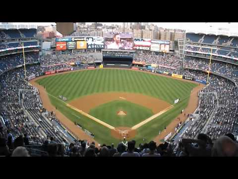 USA National Anthem at Yankee Stadium