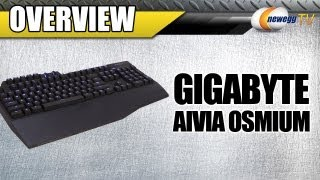 Newegg TV: GIGABYTE USB Wired Gaming Aivia Osmium Mechanical Keyboard Overview