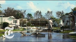 Surveying Hurricane Irma's Damage in Southwest Florida