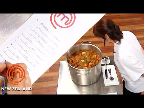 Indian Curry Taste Testing for the Finale   MasterChef New Zealand   MasterChef World