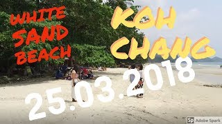 White Sand Beach At Koh Chang And Around 24.03.2018 Thailand