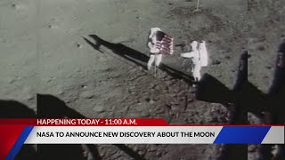 NASA to announce new discovery about the moon