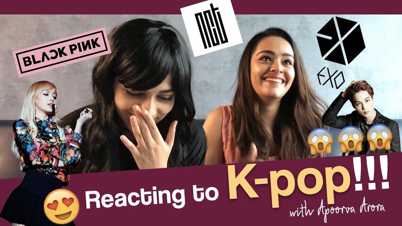 💜 Reacting to K-pop with Apoorva Arora 💜