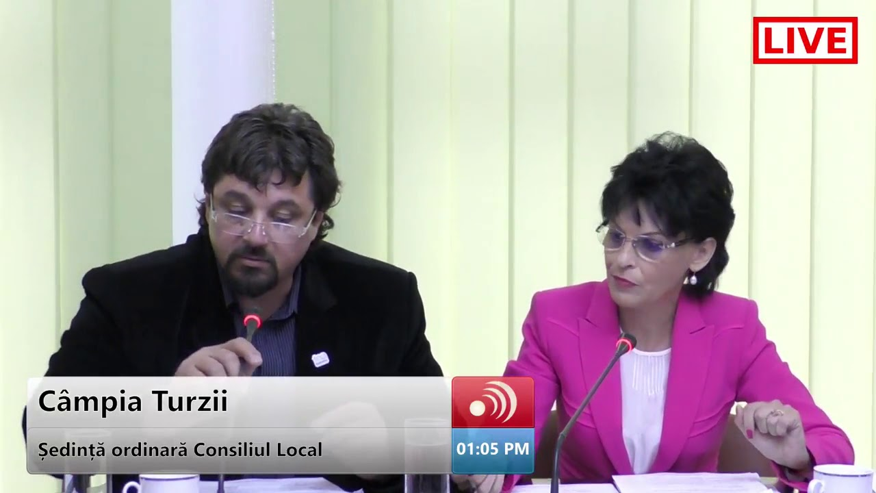 Sedinta Consiliului Local Campia Turzii (28.06.2018)