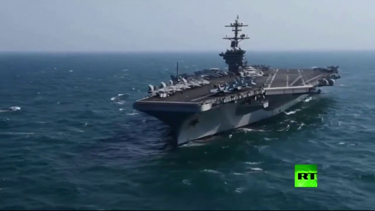 حاملة الطائرات الأمريكية الموبوءة تطلب الاستغاثة