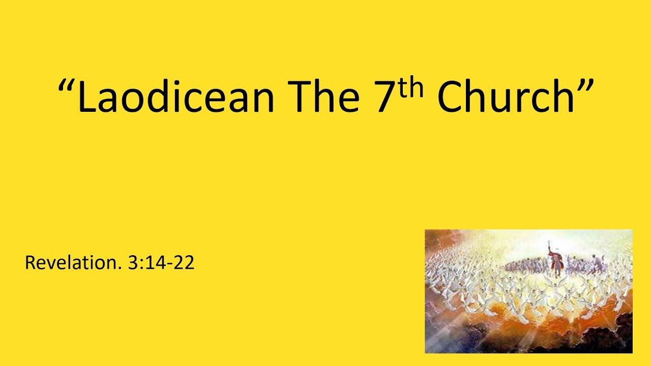 """Laodicean The 7th Church"" Evangelist RIchard Gonzales Jr"