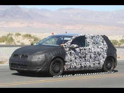 2013 Volkswagen Golf   Spy Video