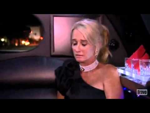 Real Housewives Beverly Hills Kyle and Kim FINALE FIGHT in Limo!!!!