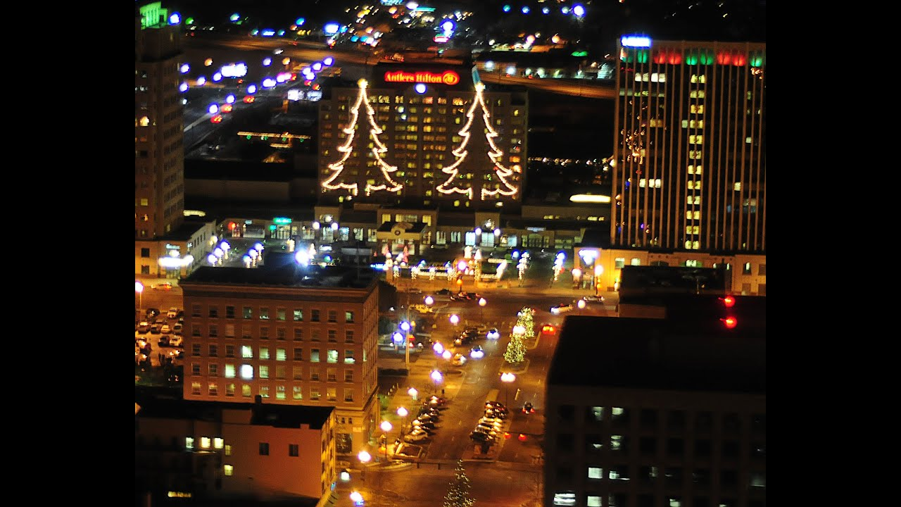 colorado springs christmas light helicopter tours youtube