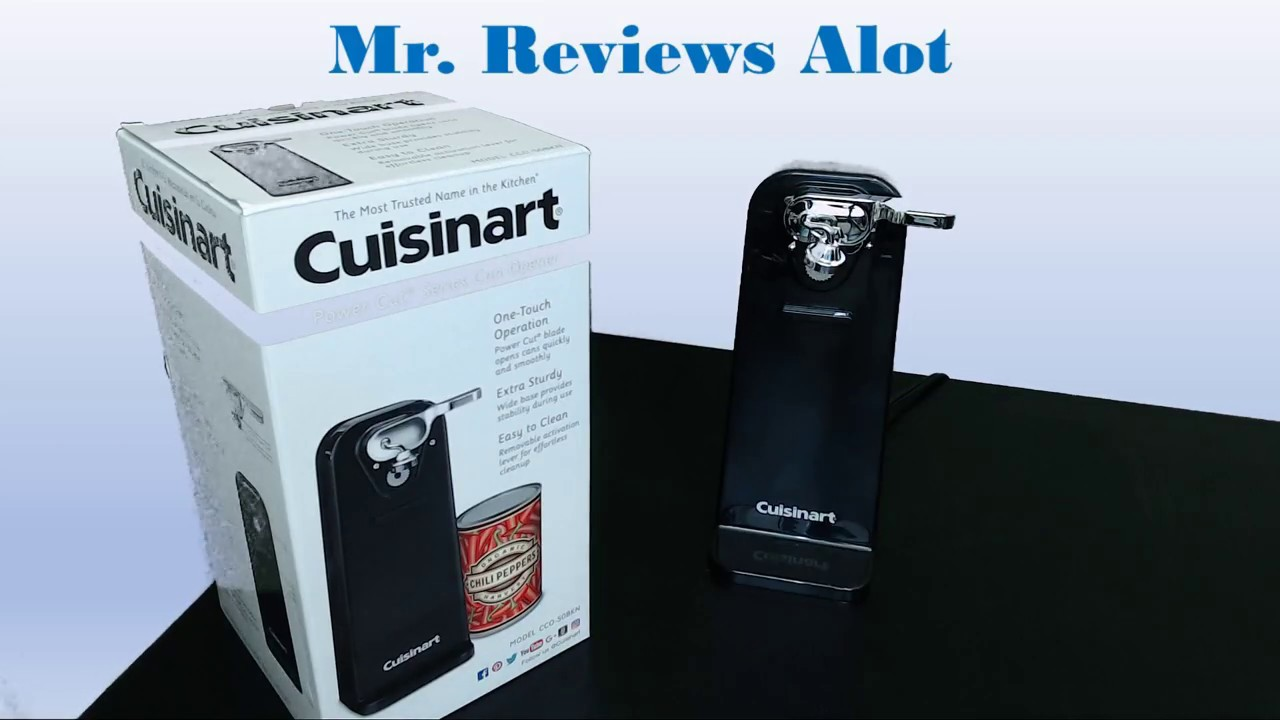 video Cuisinart Deluxe Electric Can Opener Full Review
