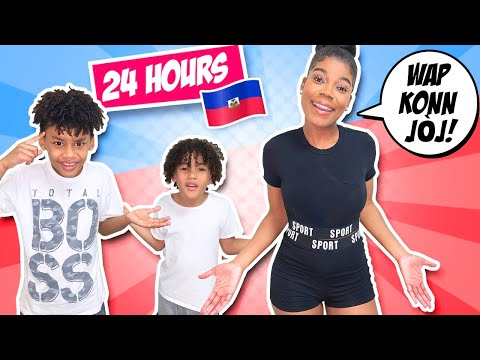 Speaking ONLY CREOLE To My Family For 24 HOURS!! **THEY DIDN'T UNDERSTAND ANYTHING**