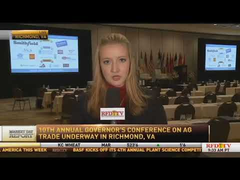 Live from The Virginia Governor's Ag Trade Conference