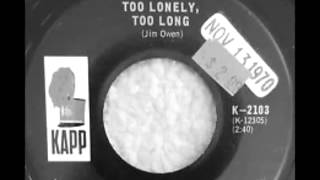 Mel Tillis -- Too Lonely, Too Long